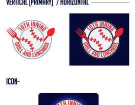 #83 untuk Baseball theme logo for restaurant oleh devclub143