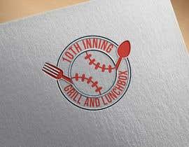 #84 untuk Baseball theme logo for restaurant oleh devclub143