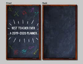#6 for Teacher Planner Book Cover by pephlaxx