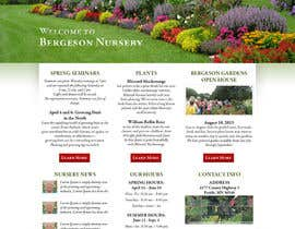 #1 para Design Inspiration for Bergeson Nursery Website por tania06