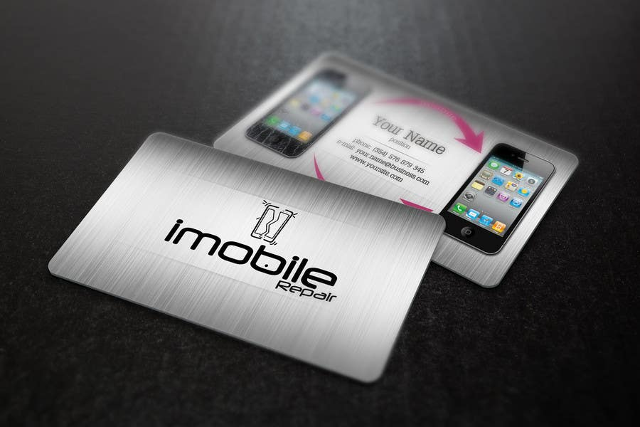 Entry #8 by s04530612 for Design some Business Cards for smartphone ...