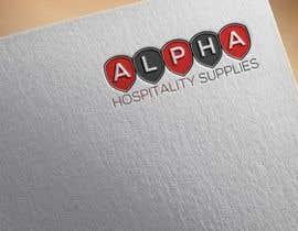 #231 for Alpha Hospitality Supplies LOGO af BigArt007