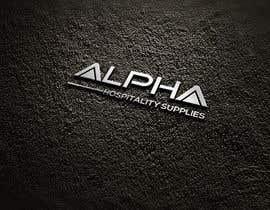 #53 for Alpha Hospitality Supplies LOGO af mehedihasanmunna