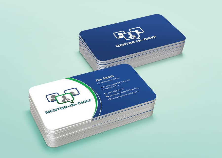 Contest Entry #55 for Biz Card / Word Template / PPT Template for Mentor-In-Chief