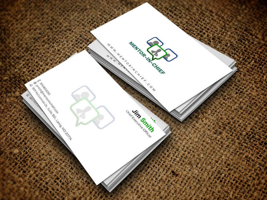 Contest Entry #66 for Biz Card / Word Template / PPT Template for Mentor-In-Chief