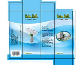 #142 for Redesign label packing for Household Cleaning Tool by edlene