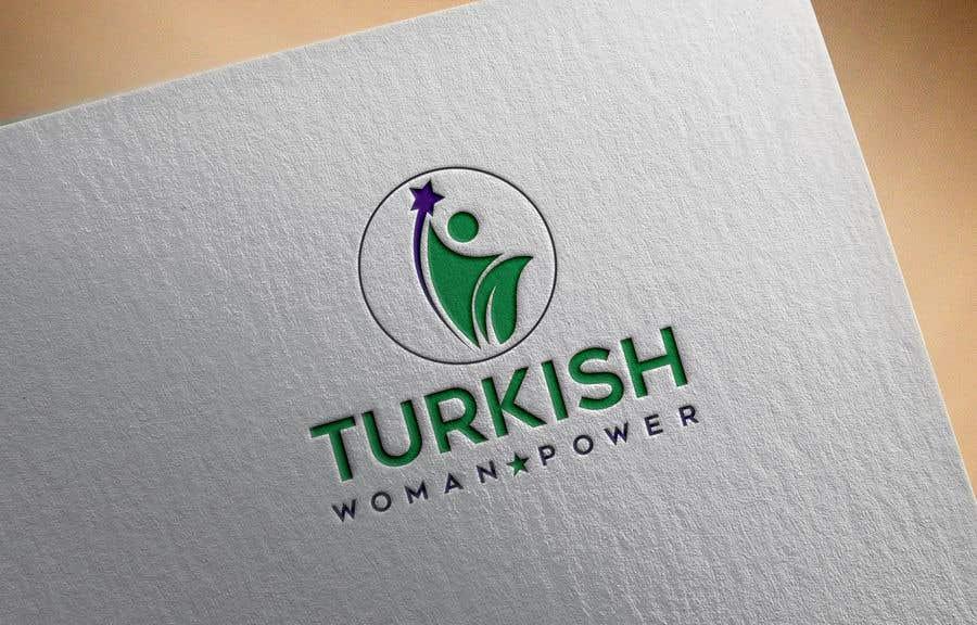 Kilpailutyö #392 kilpailussa Design a Logo and Icon for Turkish Woman Power