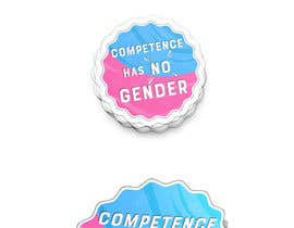#13 untuk Logo/sticker for honoring gender equality oleh Cv3T0m1R