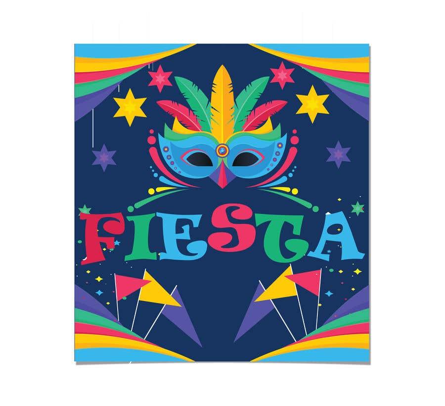 Penyertaan Peraduan #2 untuk Fun and Festive Circular Fiesta Pin/Button Design