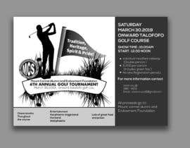 #158 untuk MCS Golf Tournament Media Flyer oleh shujjen
