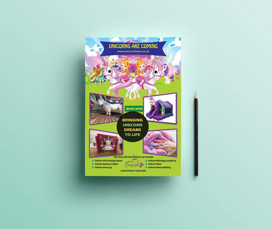 Proposition n°169 du concours Flyer Design Kinds Unicorn Event
