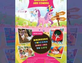 nº 207 pour Flyer Design Kinds Unicorn Event par kamrulhussen56