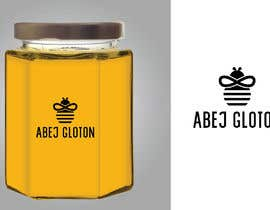 #5 for Glutonous bee honey logo by eling88