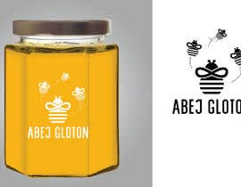 #11 for Glutonous bee honey logo by eling88