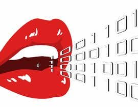 #103 for Create a Logo of lips speaking binary code that follows the Golden Ratio by fernandocamperos