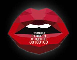 #124 for Create a Logo of lips speaking binary code that follows the Golden Ratio by fernandocamperos