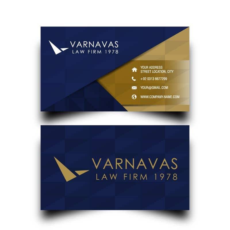 Penyertaan Peraduan #693 untuk Design new business cards for law firm