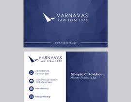 #526 untuk Design new business cards for law firm oleh kabirpreanka