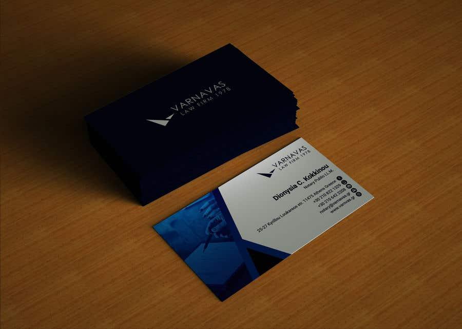 Penyertaan Peraduan #596 untuk Design new business cards for law firm