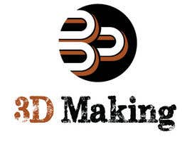 "mthote tarafından I need a logo designed for my company called ""3D-Making"" için no 47"
