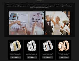 #35 for Design Landingpage for Wedding Onlineshop af Rashedmallick