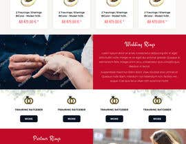 #13 for Design Landingpage for Wedding Onlineshop af anusri1988