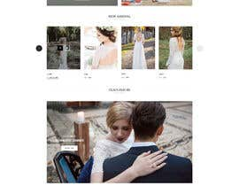 #1 for Design Landingpage for Wedding Onlineshop af reful123