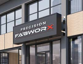 #1122 untuk Logo for fabrication brand (subsidiary of existing company) - PRECISION FABWORX oleh rongtuliprint246