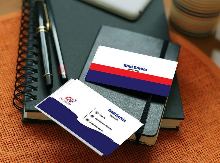 Proposition n°355 du concours Design Business Cards For Car Parts Company