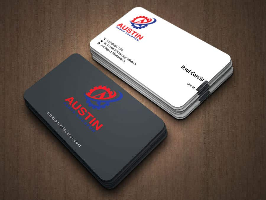 Konkurrenceindlæg #405 for Design Business Cards For Car Parts Company
