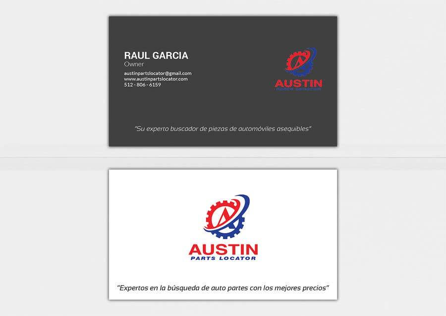 Konkurrenceindlæg #315 for Design Business Cards For Car Parts Company