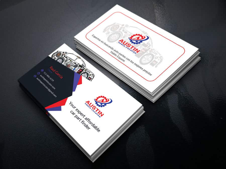 Konkurrenceindlæg #406 for Design Business Cards For Car Parts Company