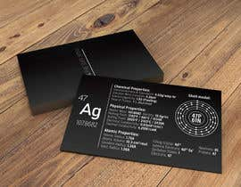 nº 6 pour Business Card with the scientic value of silver par nkrustanov