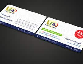 #21 for Design a Referral Voucher same size as business card by JPDesign24