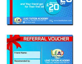jerrymarbels tarafından Design a Referral Voucher same size as business card için no 5
