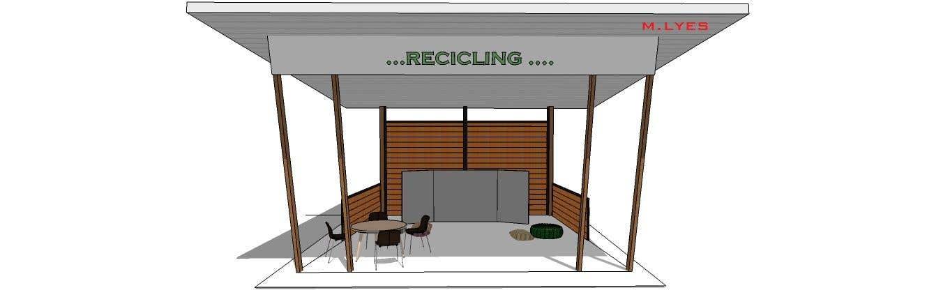 Kilpailutyö #9 kilpailussa 3D Set's Shelter/Roof design