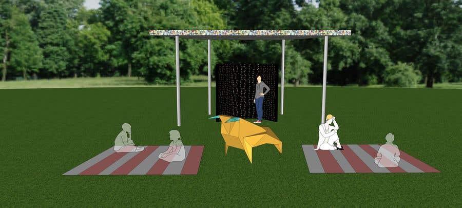 Kilpailutyö #8 kilpailussa 3D Set's Shelter/Roof design