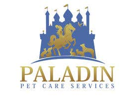 #51 for logo for Paladin Pet Care Services. A Pet Sitting & Dog Walking business. Would like a female knight riding a horse to feature. Must also include a dog, a cat & other pets. Looking for a unique, sophisticated logo with a royal flavour. by flyhy