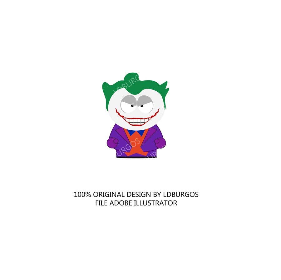 Kilpailutyö #8 kilpailussa The Joker (Batman's Villain) In Adobe Illustrator