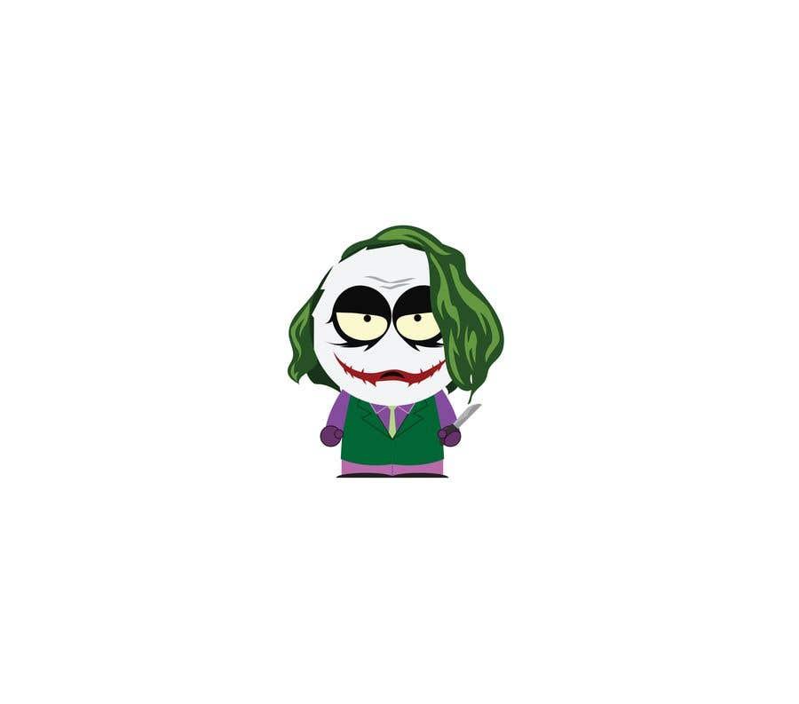 Kilpailutyö #3 kilpailussa The Joker (Batman's Villain) In Adobe Illustrator