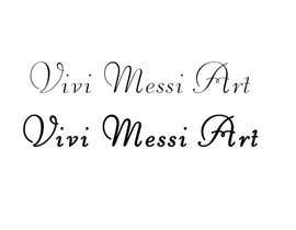 #44 for Logo for handmade creations by an Italian artisan - Vivi Messi Art by IrinaAlexStudio
