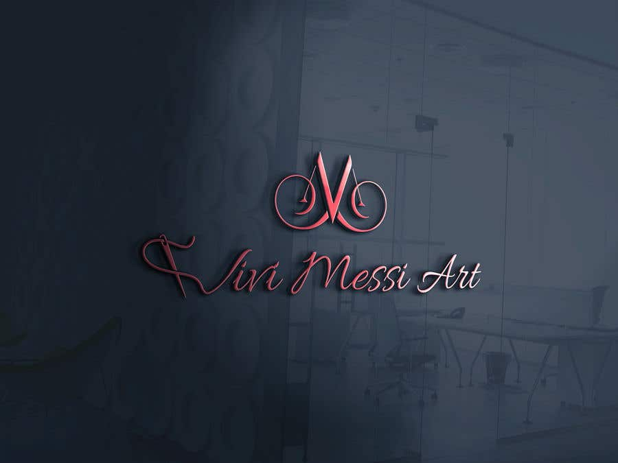 Contest Entry #26 for Logo for handmade creations by an Italian artisan - Vivi Messi Art