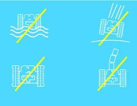 Nro 4 kilpailuun Create 4 Icons / warning symbols käyttäjältä JunaidFatyana