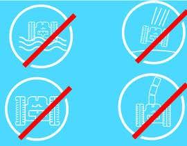 Nro 10 kilpailuun Create 4 Icons / warning symbols käyttäjältä JunaidFatyana