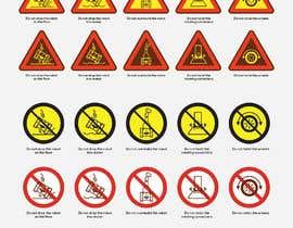 Nro 18 kilpailuun Create 4 Icons / warning symbols käyttäjältä BadWombat96