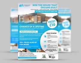 #86 for Flyer Design for Dream Home House Raffle by ephdesign13