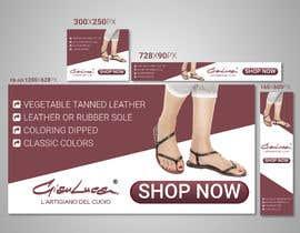 #58 para ADS Banner for shoes website: shop now! por malekhossain1000