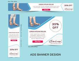 #47 para ADS Banner for shoes website: shop now! por mdziakhan