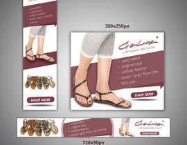 #53 para ADS Banner for shoes website: shop now! por becretive
