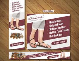 #54 para ADS Banner for shoes website: shop now! por becretive